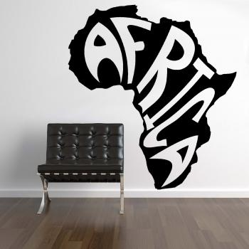 wandtattoo africa wandbild aufkleber. Black Bedroom Furniture Sets. Home Design Ideas