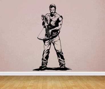 Wandtattoo Daryl - The Walking Dead