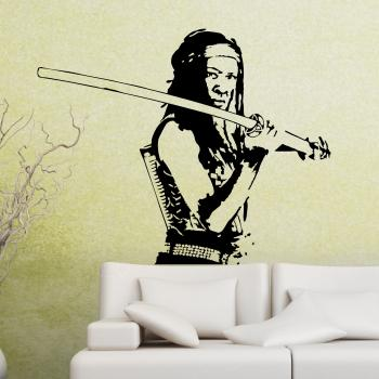 Wandtattoo Michonne - The Walking Dead