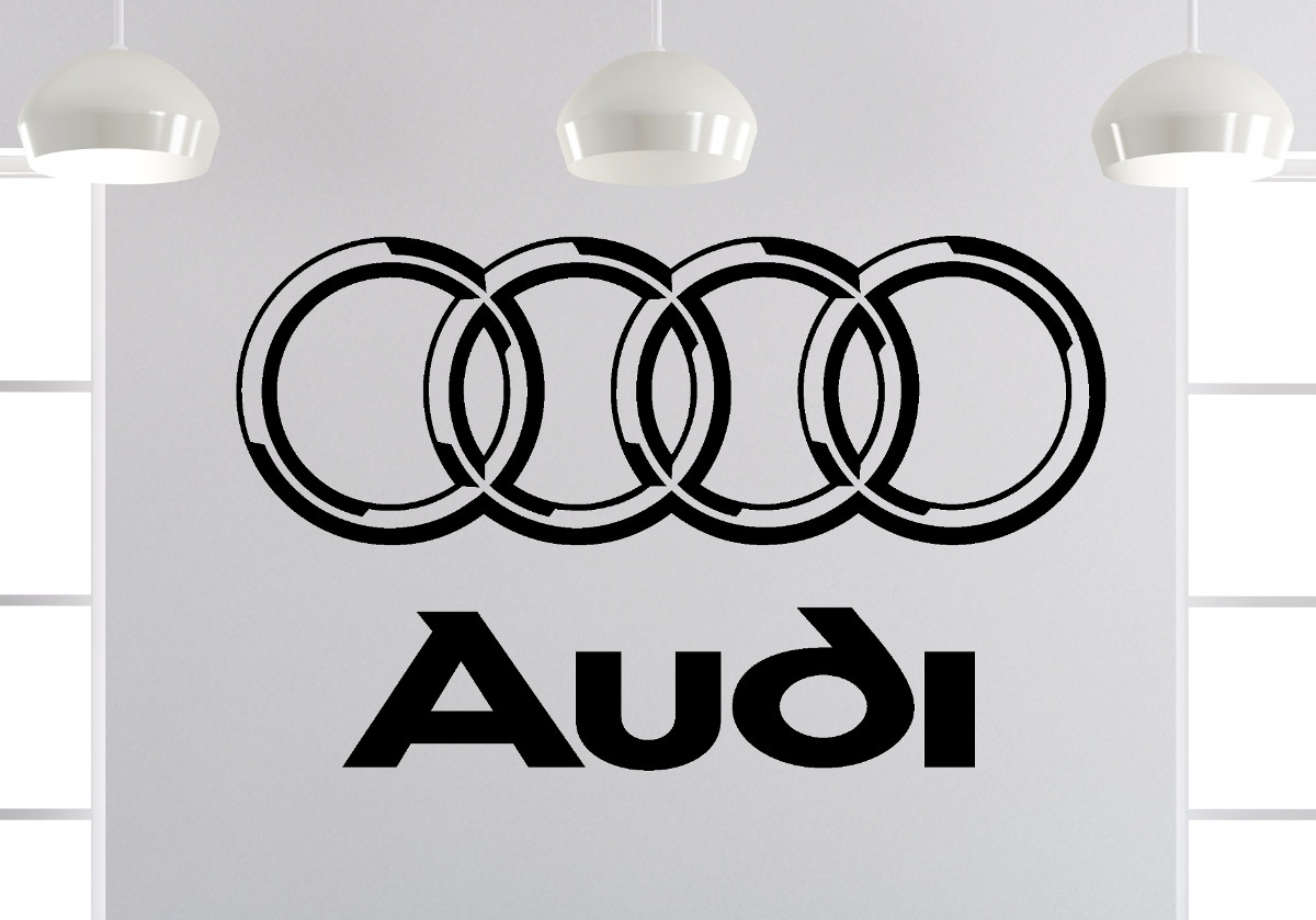 Attractive Wandtattoo Bilder Best Choice Of Audi Logo