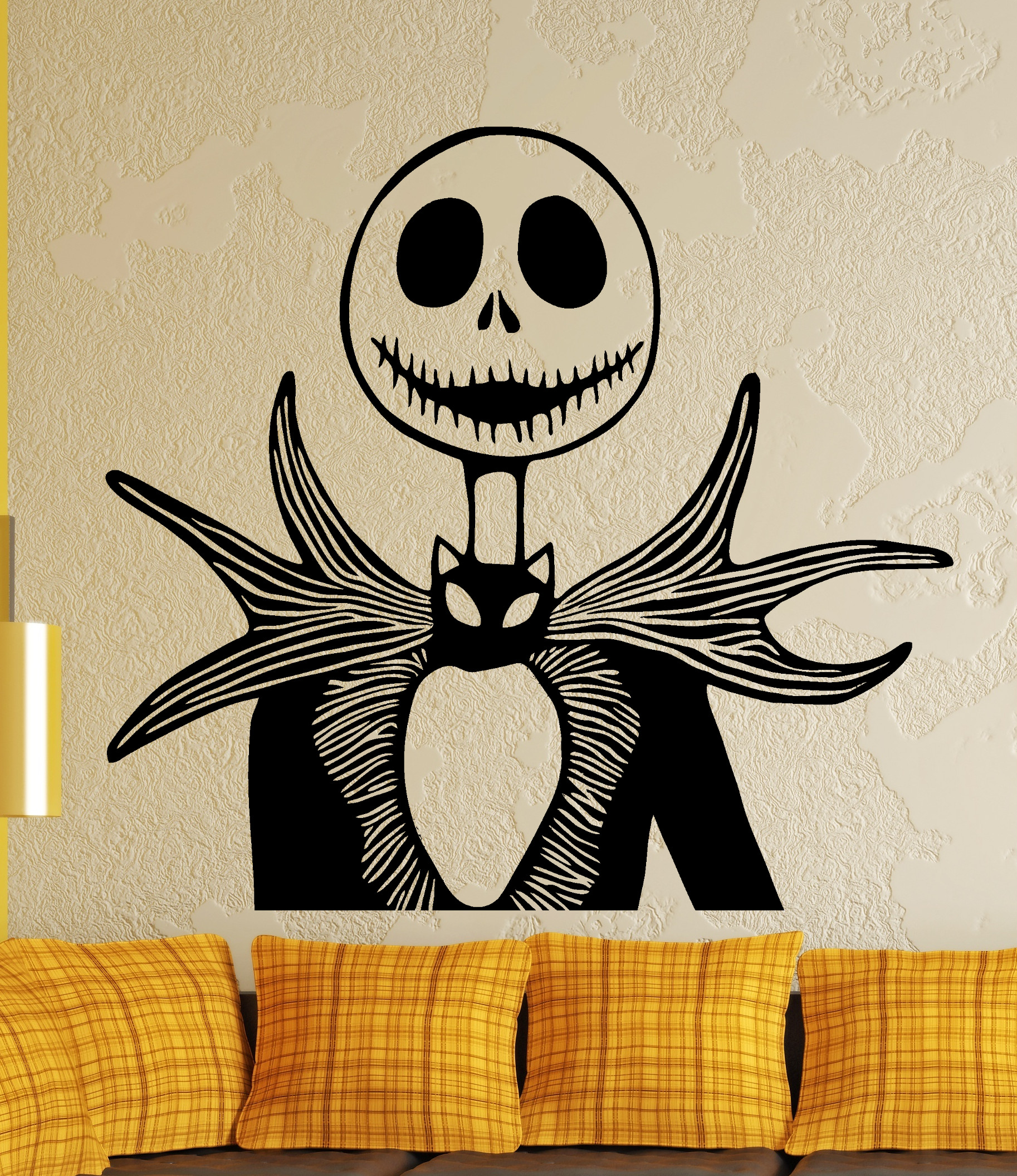 Streetwall - Wall Decal Jack Skellington - Nightmare Before Christmas
