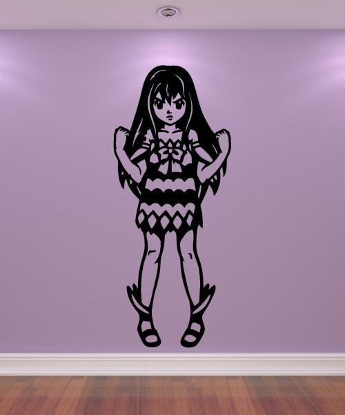 Wandtattoo Wendy Marvell - Fairy Tail